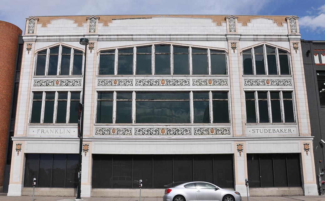 Studebaker Buildings Dealerships