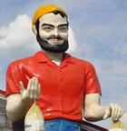 International Fiberglass Paul Bunyan Statues