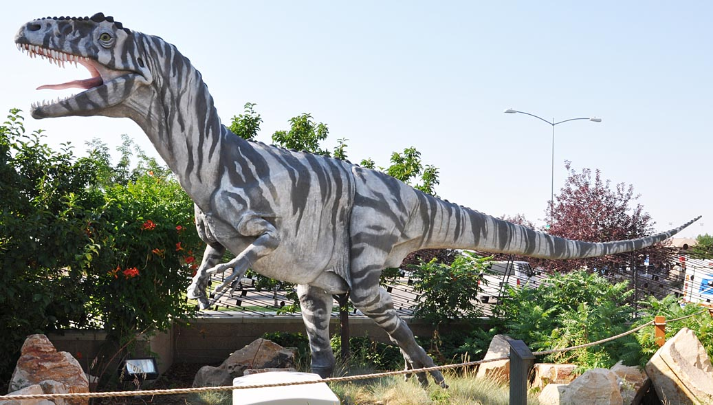 Utah Dinosaur Statues RoadsideArchitecturecom