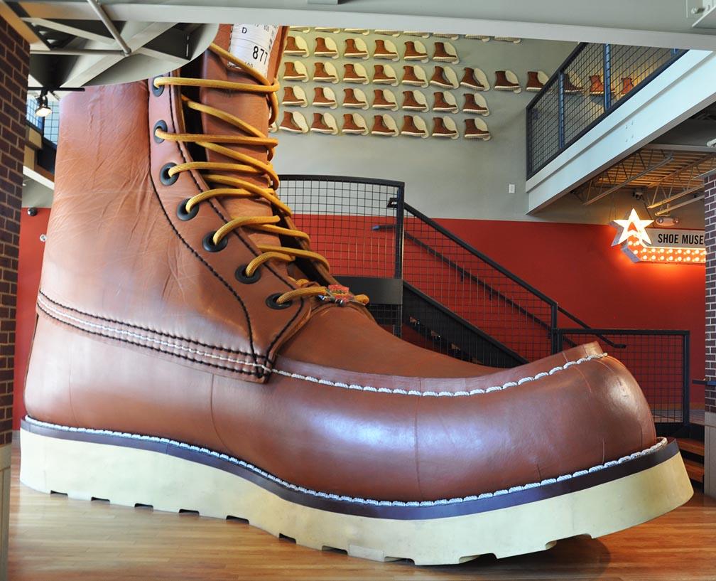 Giant Boots & Skates | RoadsideArchitecture.com