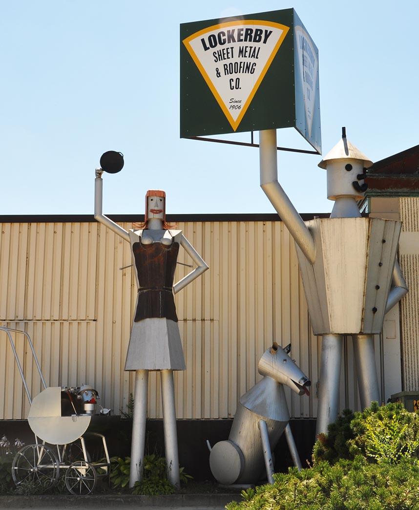 Tin Men Statues Roadsidearchitecture Com