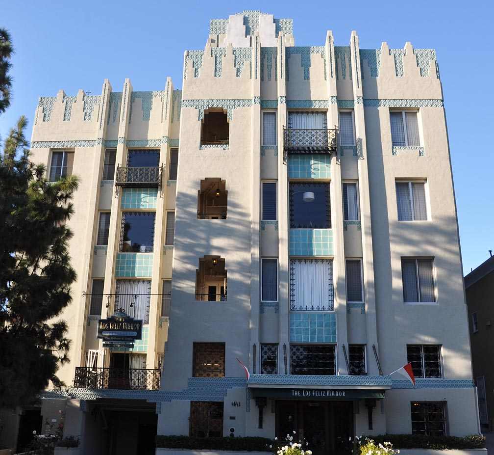 art deco apartments los angeles