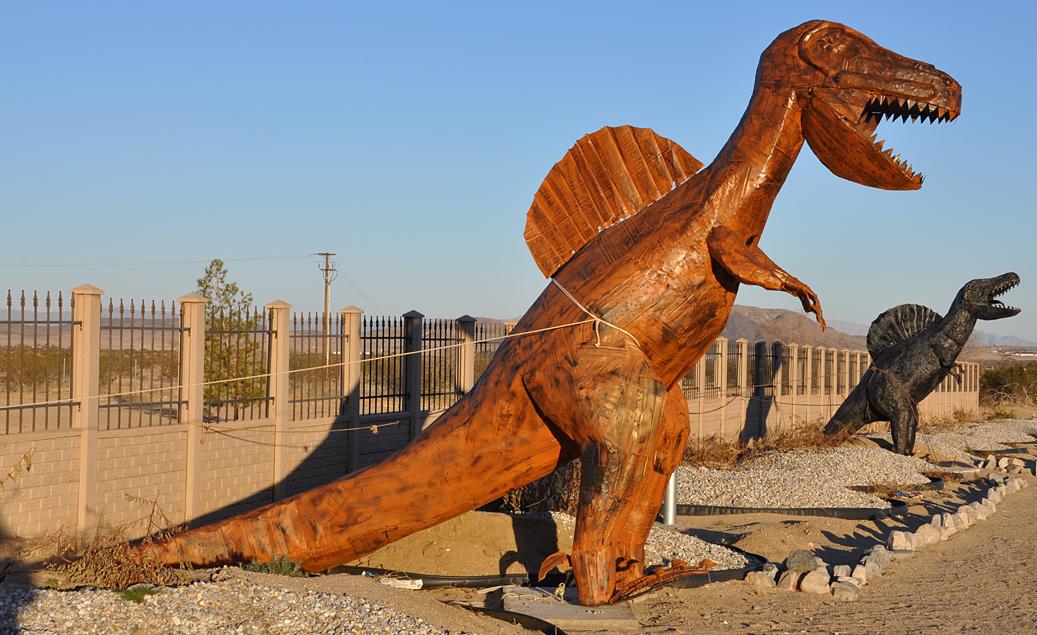 California Dinosaur Statues Roadsidearchitecture Com