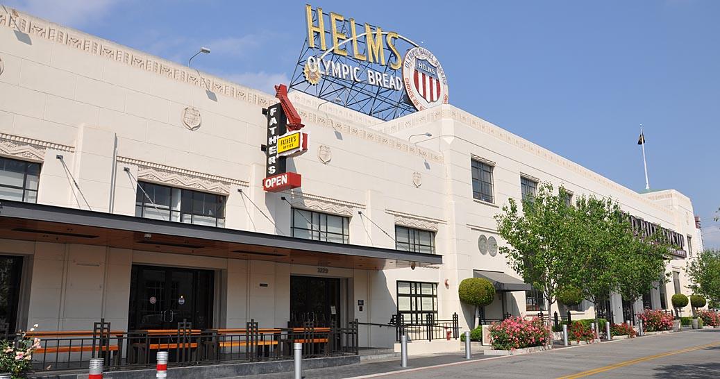 California Art Deco Streamline Moderne Buildings