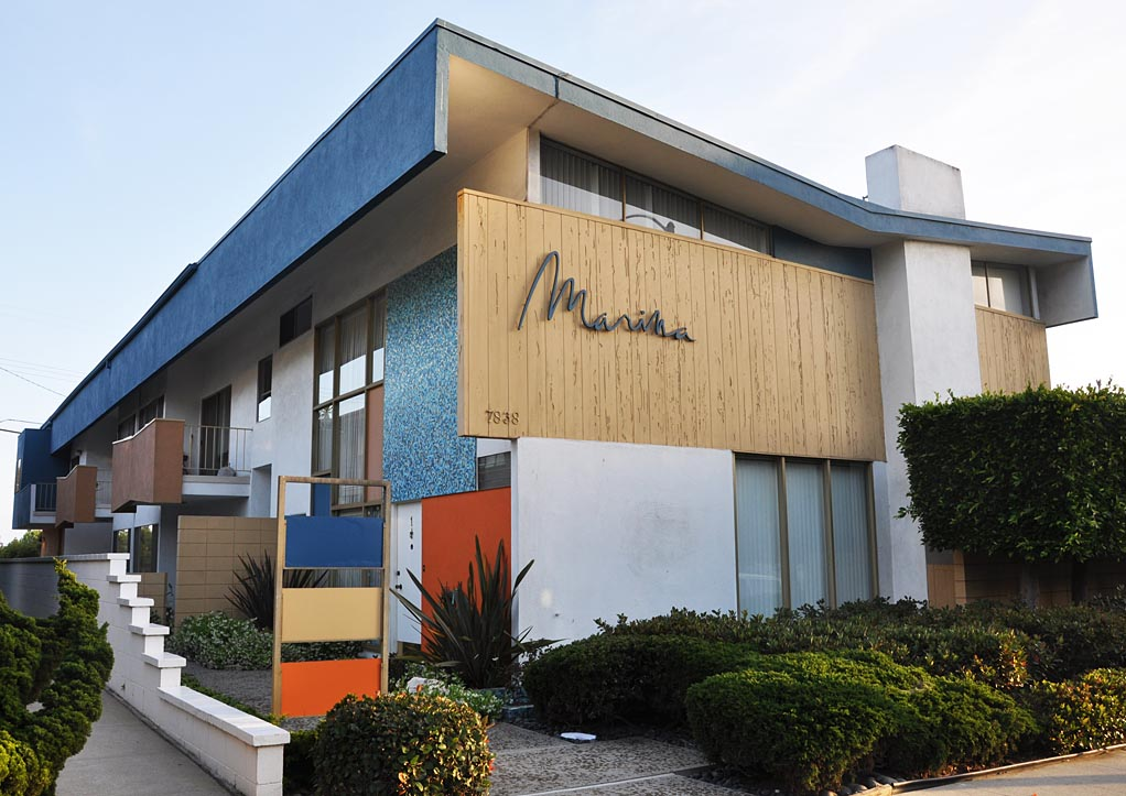 California Mid-Century Modern Residential Buildings ...