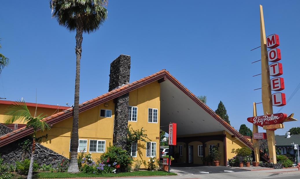 California Mid Century Modern Motels Amp Hotels