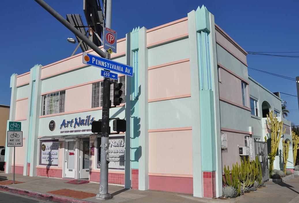 San Diego Area Art Deco & Streamline Moderne Buildings ...