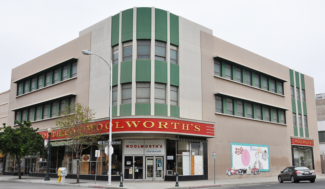 California Woolworth Store Buildings