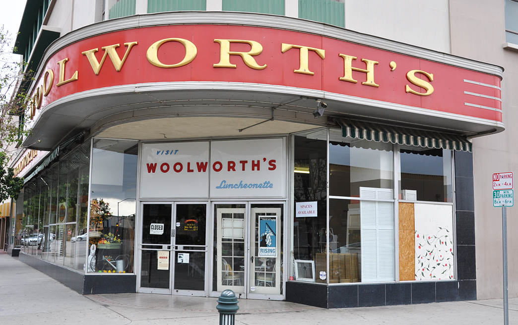 California Woolworth Store Buildings | RoadsideArchitecture com