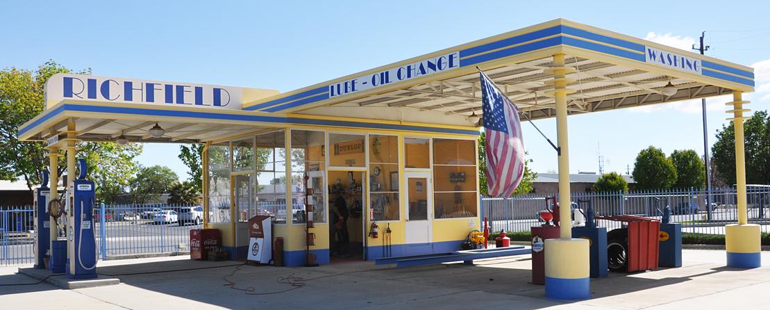 Gas Stations In California >> California Richfield Gas Stations Roadsidearchitecture Com