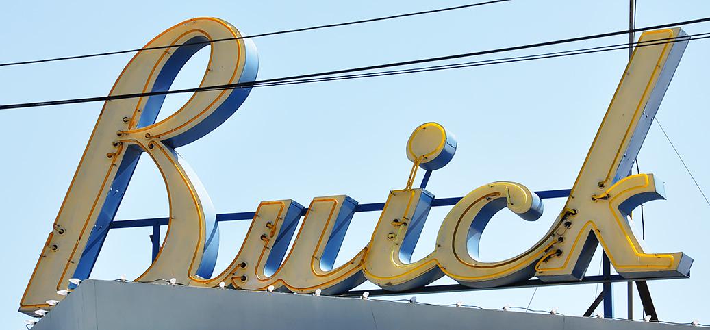California Car Showrooms Dealerships RoadsideArchitecturecom - Buick auto dealers