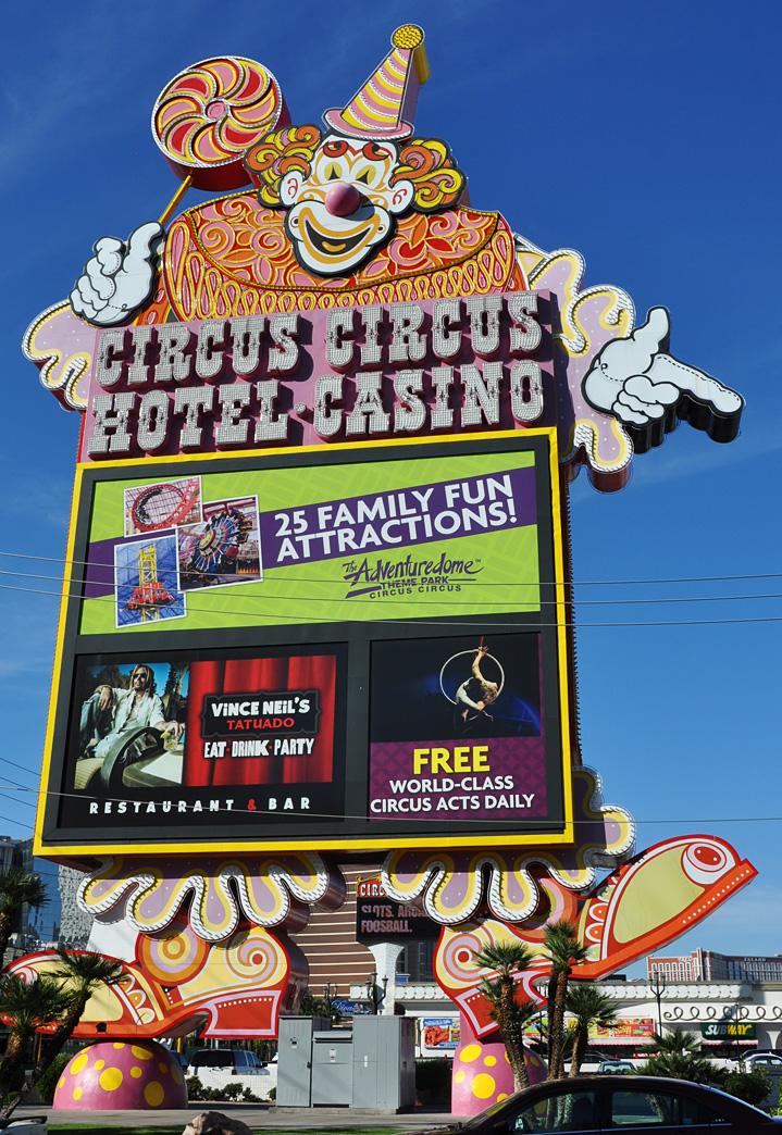 hotel circus circus las vegas