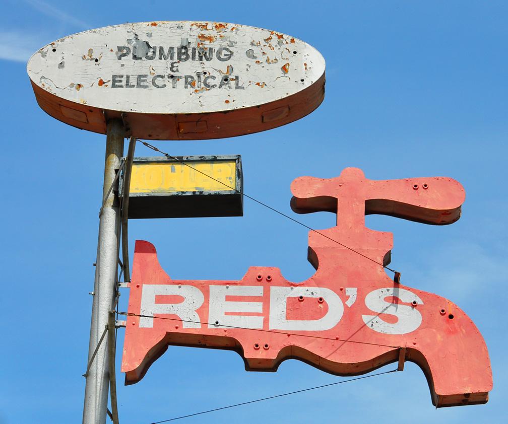 Plumbing Signs | RoadsideArchitecture.com