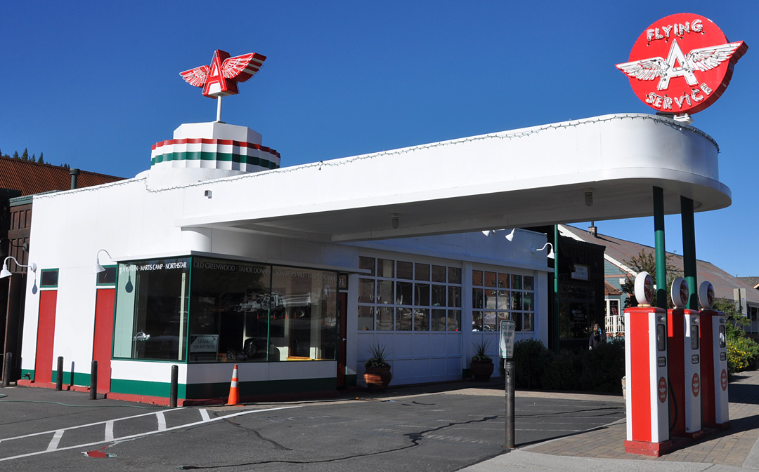 Gas Stations In California >> California Flying A Gas Stations Roadsidearchitecture Com