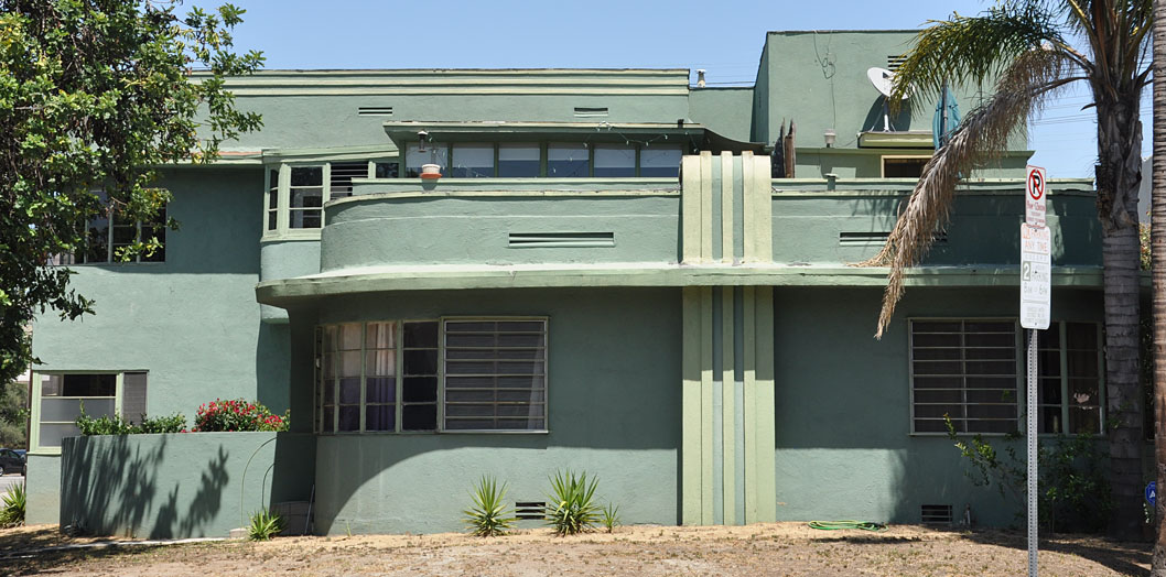 los angeles art deco streamline moderne buildings