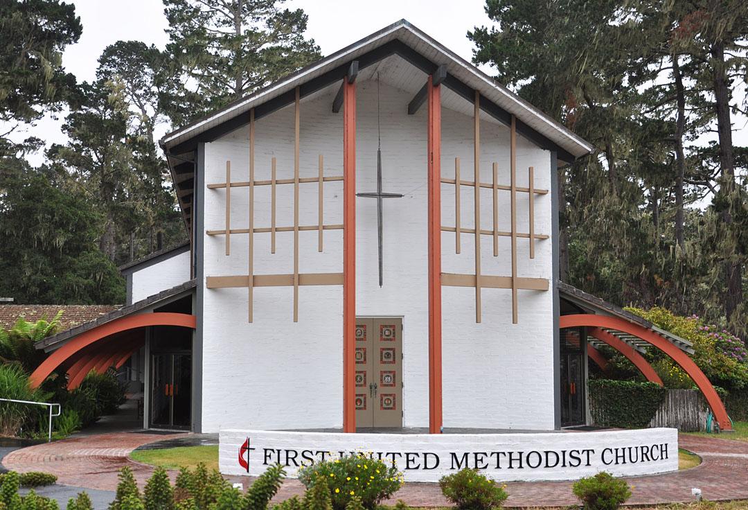 California Mid Century Modern Churches