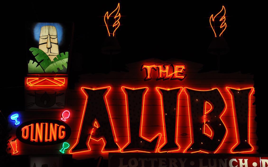 The Alibi opened in 19...