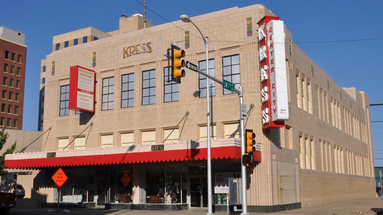 Texas Kress Store Buildings Roadsidearchitecture Com