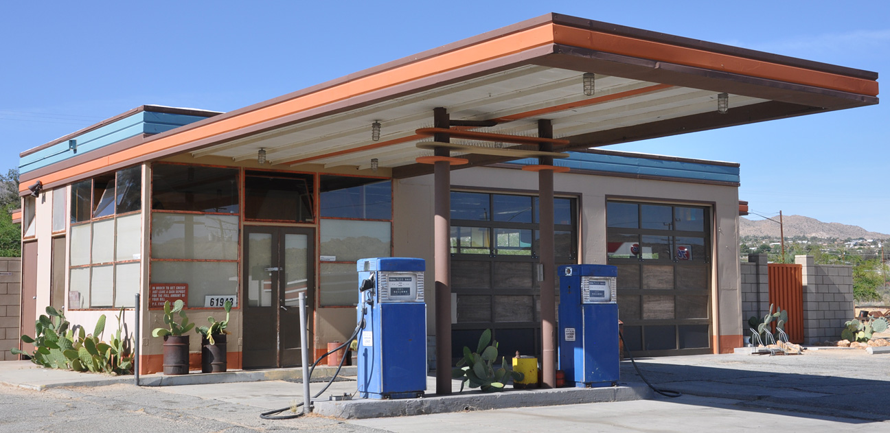 California Richfield Gas Stations Roadsidearchitecture Com