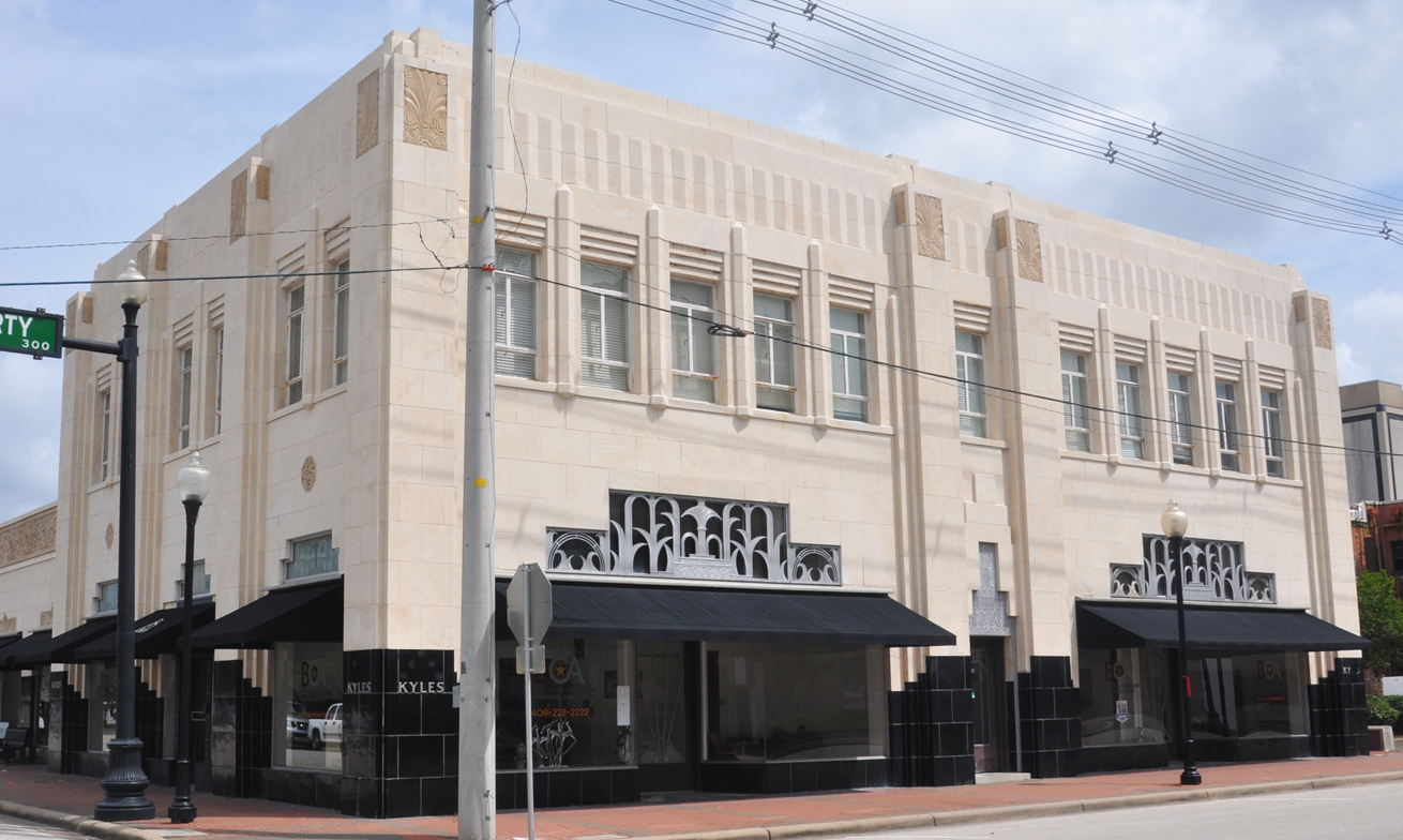 Beaumont Tx Art Deco Amp Streamline Moderne Buildings