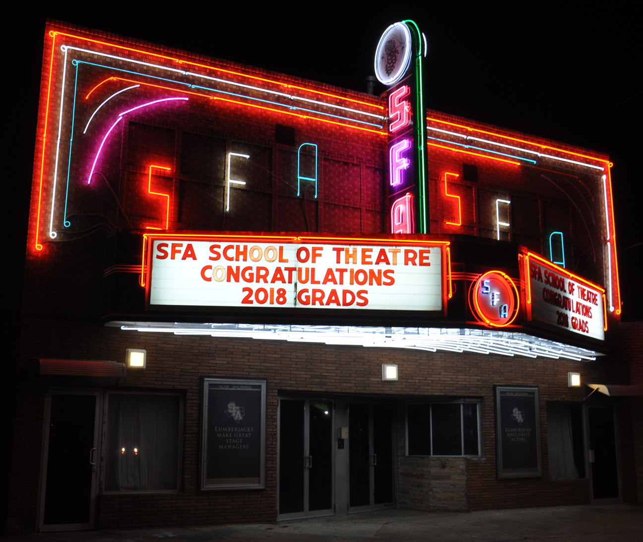 Image result for SFA movie theater